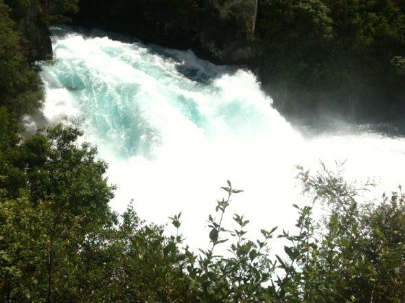 Huka-Fall am Taupo-See