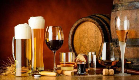 Wein oder Bier?