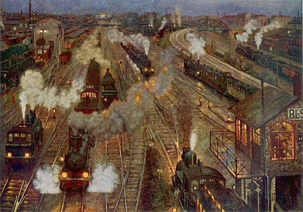 Melancholie und Eisenbahn