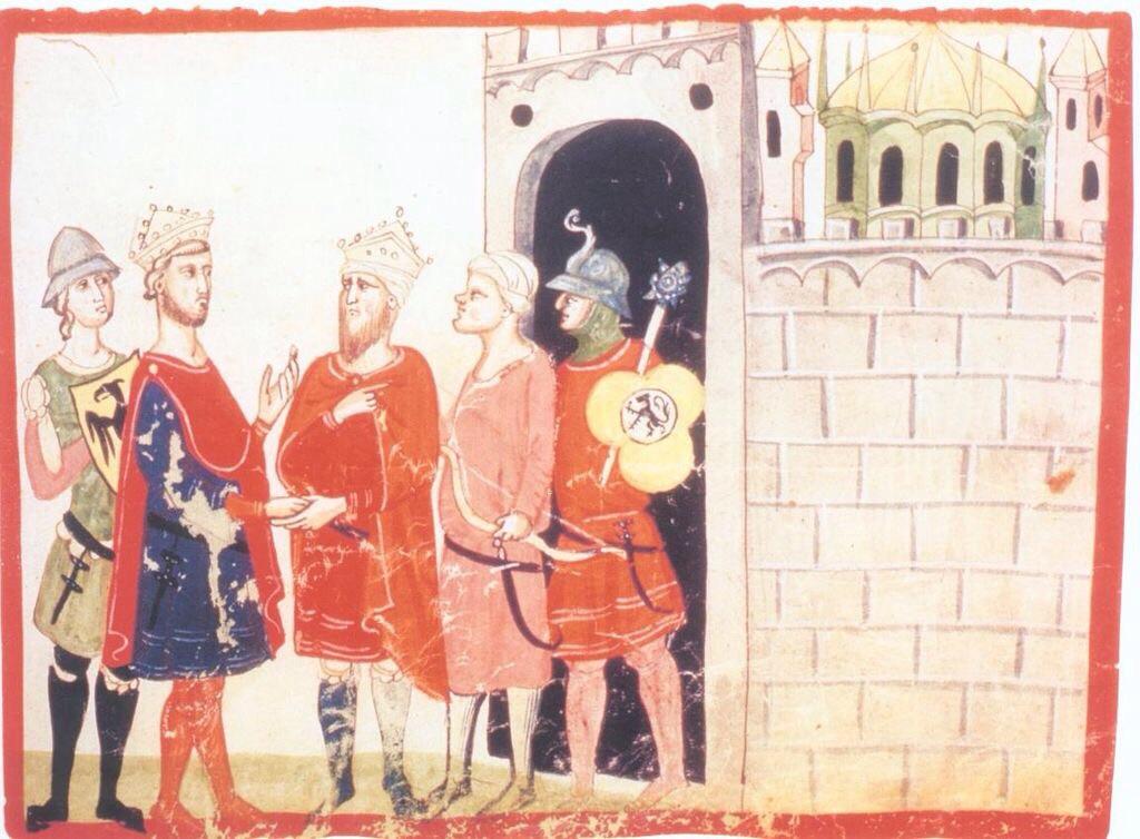Friedrich II. erhält Jerusalem