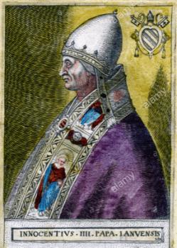 Papst Innozenz IV - führte die Folter ein
