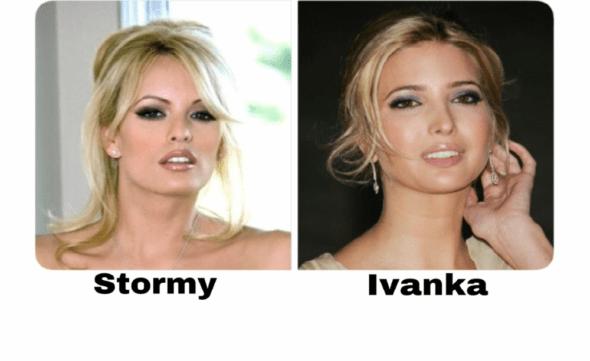 Präsident Trump und sein Pornostar