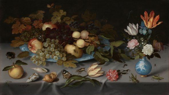 Ein Blumenjahr in der Mingvase